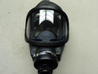 MSA 3S Full Face Respirator Oxygen Mask