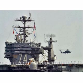 Aircraft Carriers Helicopters Ships Navy Sailors Photo Cut Outs