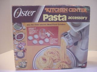 Kitchen Center Pasta Accessory Kit 939 65 fits Meat/Food Grinders