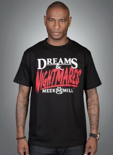 Meek Mill Dreams Nightmares T Shirt MMG Hoodie Sweatshirt Clothing