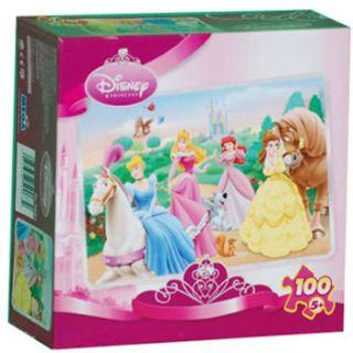 Mega Brands 100 Piece Puzzle Disney Princess Springtime with Friends