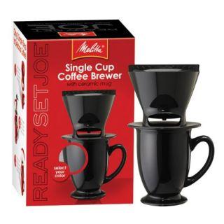 Features of Melitta Ready Set Joe/Mug 64010 Coffee Makers Speciality