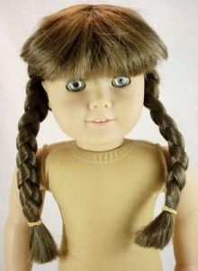 American Girl Doll Molly McIntire Pre Mattel Silver Eye Read See Pics