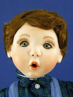 Kay McKee Hamilton Collection Ryan Doll COA
