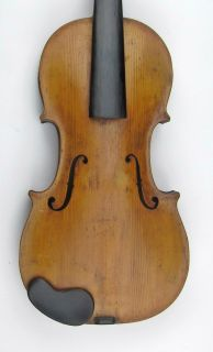old Italian Baroque Violin labeled Antonius Meloni 1692 Excellent cond