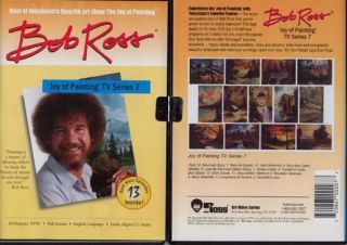 New Bob Ross Joy of Oil Painting TV Series 7 on DVD Art