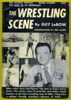 1950 The Wrestling Scene Book 96 Pages All The Great