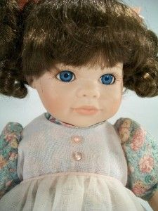 Collection Lullaby and Goodnight Porcelain Doll Meagan Kneeling