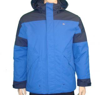 Lacoste Mens Thermolite Ski Parka Jacket Royal