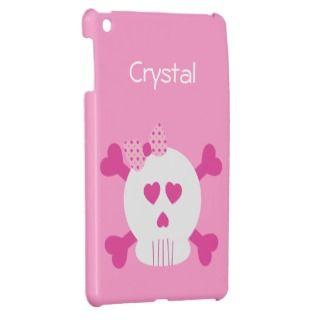 Skull and Cross Bones 5 iPad Mini Cases