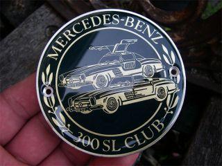 Mercedes Benz 300 SL Club Deutschland Germany Badge