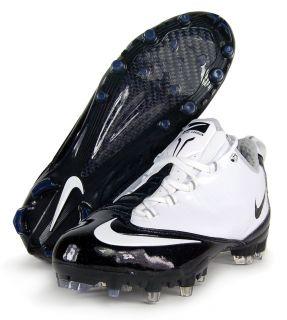Nike Zoom Vapor Carbon Fly TD Sz 9 Mens Football Cleats White Black