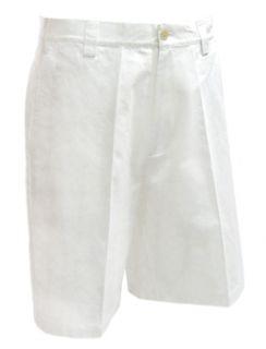 Ashworth Golf Mens White Dewspeeper Shorts AM6455 Whi