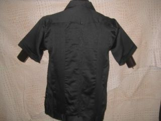 Original Mexican Black Guayabera Casual Dress Wedding