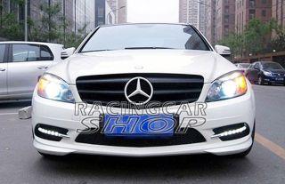Mercedes Benz W204 C Class Grille Black and White C180 C200 C280 C300