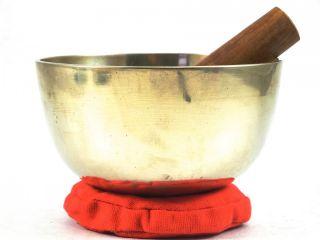 New Meditation Grade F Chakra Tibetan Singing Bowl 5 5 F794X Retail $