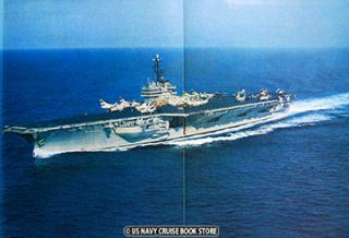 USS Saratoga CVA 60 Mediterranean Cruise Book 1959 1960