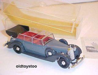 Rio Italy 1937 Mercedes Benz Cabriolet Diecast 1 43 Scale