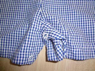 Ellemenno Baby Boy Size 18 Months Blue Bunny Seersucker Romper Outfit