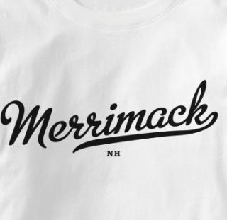 Merrimack New Hampshire NH Metro Souvenir T Shirt XL