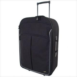 Mercury Luggage Coronado Black 30 Wheeled Upright Suitcase 3230BK