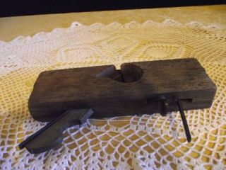 Antique Primitive Plane Tool Ohio Tool Co F J M Merz