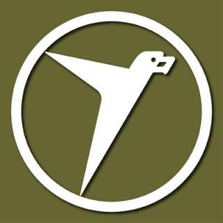 Messerschmitt AG Logo Luftwaffe Vinyl Sticker Vlmesst