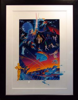 Melanie Taylor Kent Star Wars Hand Signed NR Fine Art Make OFFER