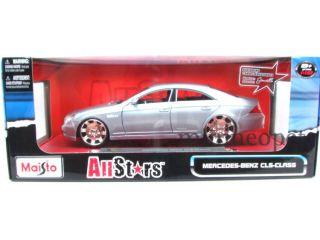 Maisto All Stars Mercedes Benz CLS 1 18 Diecast Silver