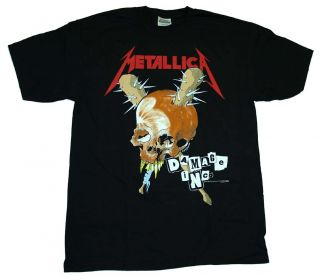 Metallica Damage Inc Tour Metal Band T Shirt Tee
