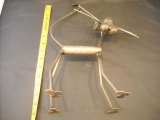 Welded Scrap Metal Cat Sculpture