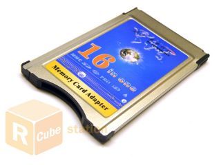 multi in one pcmcia memory card reader no retail packing