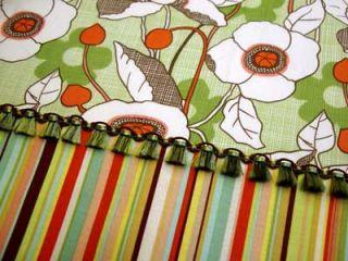 Classic Poplin Polka Dot Ivory Sage Green Fabric Yd