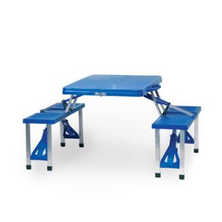 Picnic Sport Portable Outdoor Picnic Table Blue