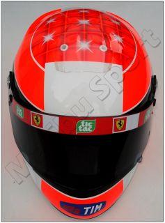 Michael Schumacher Indianapolis GP 2001 Full Scale Replica Helmet