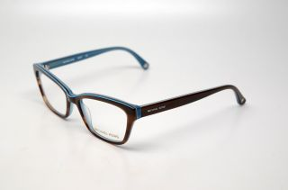 Michael Kors 257 235 Brown Light Blue s 52 RX Glasses