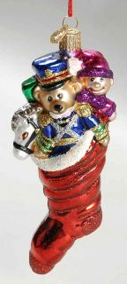Merck Familys Old World Christmas Ornament Toy Stocking 8859903