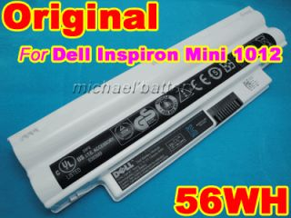 6Cells Genuine Original Battery For Dell Inspiron Mini 1012 Netbook