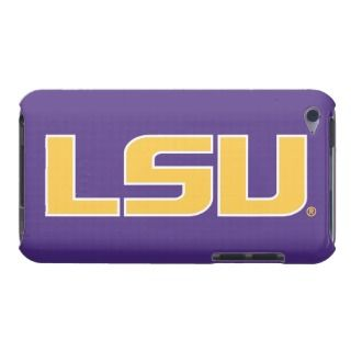 LSU Gold & White Logo iPod Case Mate Cases