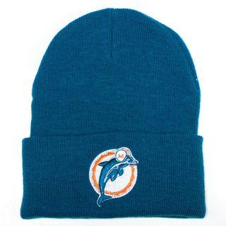 Miami Dolphins Reebok K319Z Throwback Cuffed Knit Hat