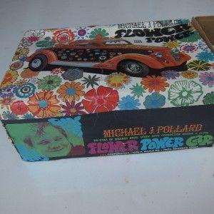 Vintage AMT Model Michael J Pollard 1936 Ford Flower Power Car Plastic