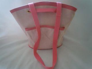 Bath Body Works Pink Tote Purse Handbag