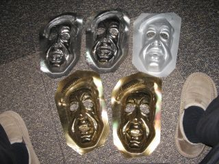 Wizard of OZ 1978,(1 GOLD) halloween mask factory test,Michael Jackson