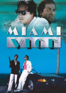 Miami Vice TV Poster E 27x40