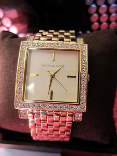 Michael Kors Womens Watch Gold Stainless Steel MK3117