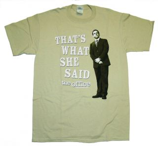 The Office TV Thats What She Said Michael T Shirt Tee