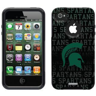 Commuter Case Apple iPhone 4 4S Michigan State University Spartans MSU