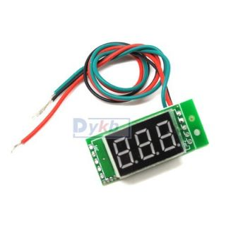 Digital Red Panel Meter Voltmeter DC 0 100V LED Board