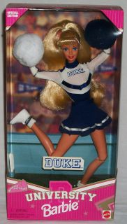 Duke University Barbie Cheerleader Special Edition Mattel Doll