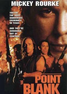 Point Blank 1998 Mickey Rourke DVD New